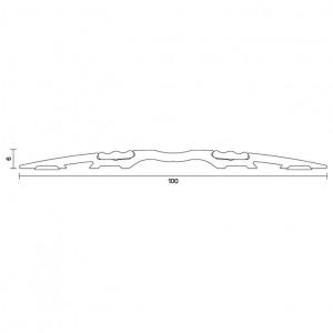 AURA Threshold plates AAS4505