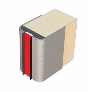 Door edge protector for 44mm FD30 door