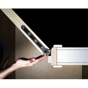LAS 9090 Safehinge™ - integrated finger protection for 44MM thick doors